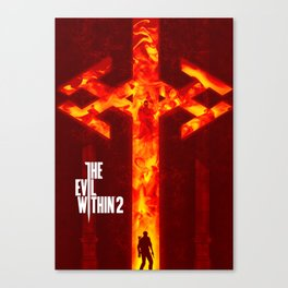 The Evil Within 2 Canvas Print