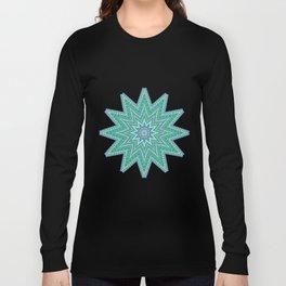 Kaleidoscopic-Oceania colorway Long Sleeve T-shirt