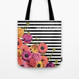 Give Lots of Damns. Tote Bag