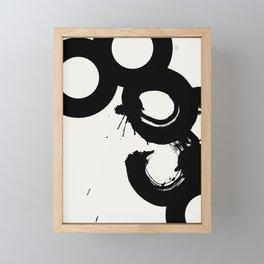 Broken Chain (West Meets East Series) Framed Mini Art Print