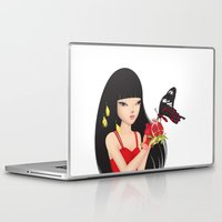 ruby Laptop & iPad Skins featuring Ruby by Anne  Martwijit
