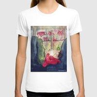 video games T-shirts featuring Girls & Video Games by Danielle Feigenbaum