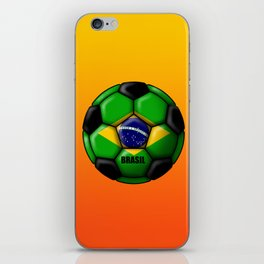 Brasil Ball iPhone Skin
