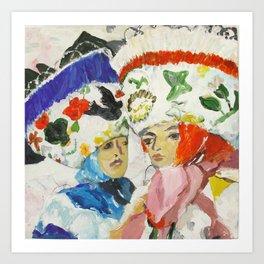 Mexican Carnival Art Print
