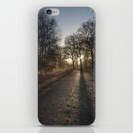 Cycle Path Sunrise iPhone Skin