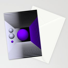 3D-geometry -3- Stationery Cards