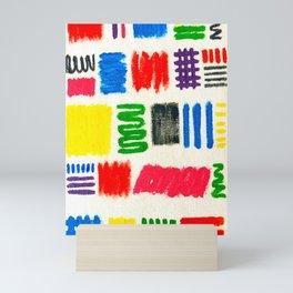 Dribble Scribble Mini Art Print