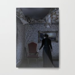 Home is such a lonely place without you Metal Print