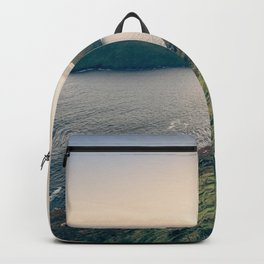 Keem Bay Sunset - nature photography Backpack
