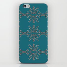 Gray Tree Diamonds iPhone Skin