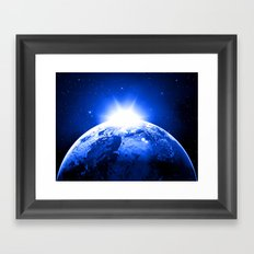Day and Night II Framed Art Print