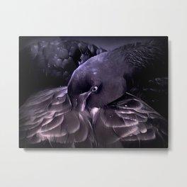 Black Swan by GEN Z Metal Print