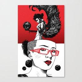 Flight of Fancies Canvas Print