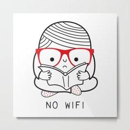 No wifi Metal Print