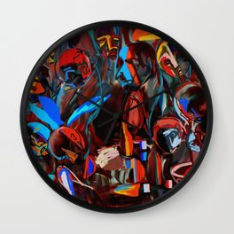kafana in Serbia Wall Clock