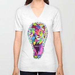 Lion Heart Unisex V-Neck
