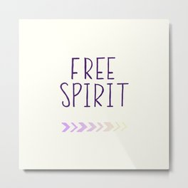 free spirit Metal Print