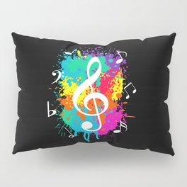 Music grunge Pillow Sham