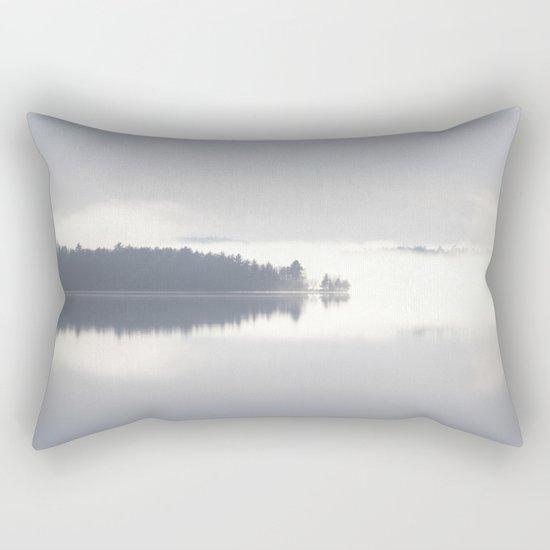 Reflecting By The Lake Rectangular Pillow