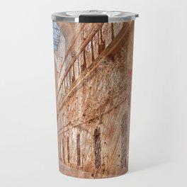 Battered Prison Corridor Travel Mug