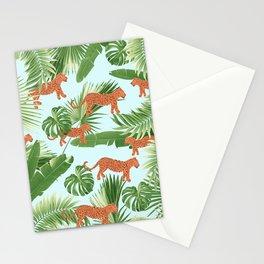 Leopard Jungle Dream Pattern #1 (Kids Collection) #decor #art #society6 Stationery Cards