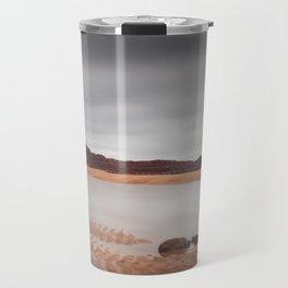 Mumbles lighthouse Swansea Bay Travel Mug