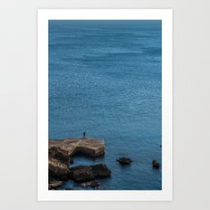 There are plenty of fish in the sea, kid Art Print