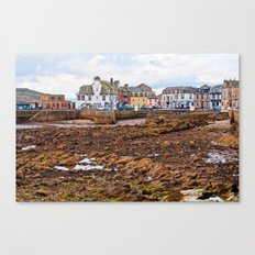 Tides Out In Millport  Canvas Print