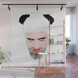 Panda Beard II Wall Mural