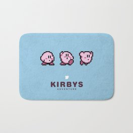 Kirbys Adventure Bath Mat