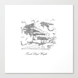 Frank Lloyd Wright Canvas Print