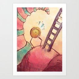 Tourbillon Art Print