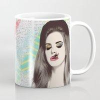 lana Mugs featuring LANA #2 by Vita♥G