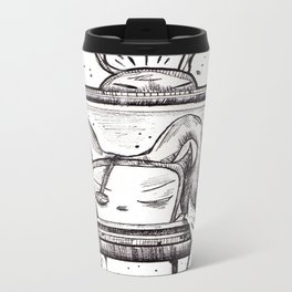 Something on? Metal Travel Mug
