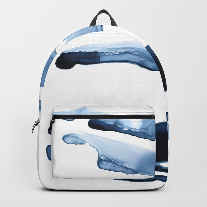 Abstract Indigo no. 2 Backpack