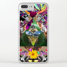 Come together Clear iPhone Case