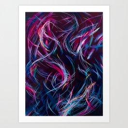 Forever Free Falling Art Print
