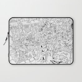 Fragments of memory Laptop Sleeve