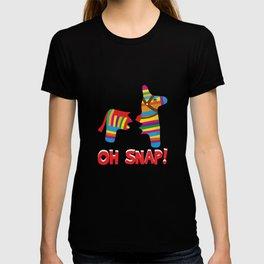 Broken Pinata Oh Snap! Funny Cinco De Mayo Mexican T-shirt
