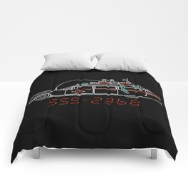 Who You Gonna Call? Ghostbusters Original Hearse Car Comforters
