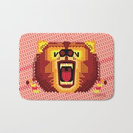 Geometric Bear 2012 Bath Mat