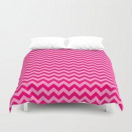 Pink Morroccan Moods Chevrons Duvet Cover
