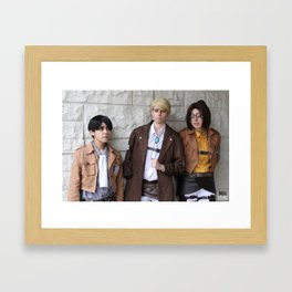 20151024 EruRiHan, Leaders Framed Art Print