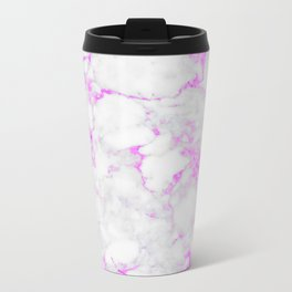 Marble Textures #spring #decor #society6 Metal Travel Mug
