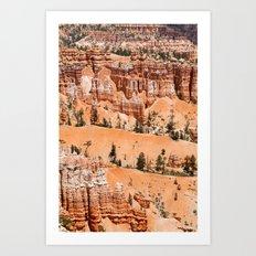 Hoodoos, Bryce Canyon Art Print