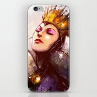 evil iPhone & iPod Skins featuring Evil Queen by Vincent Vernacatola