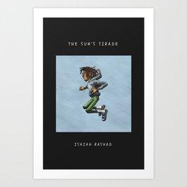 Isaiah Rashad - The Suns Tirade Art Print
