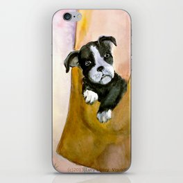 Lucille's Pup in a Pocket* iPhone Skin