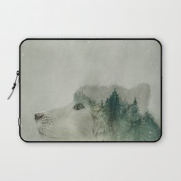 Light Wolf Laptop Sleeve