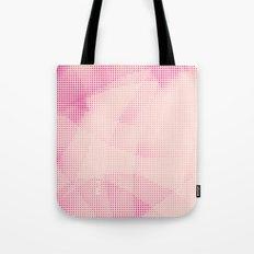 Pink and Rose Colored - Optical Game 24 Tote Bag